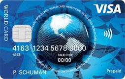 prepaid visa world card