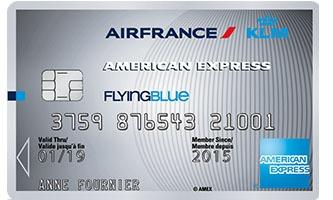 flying blue silver card